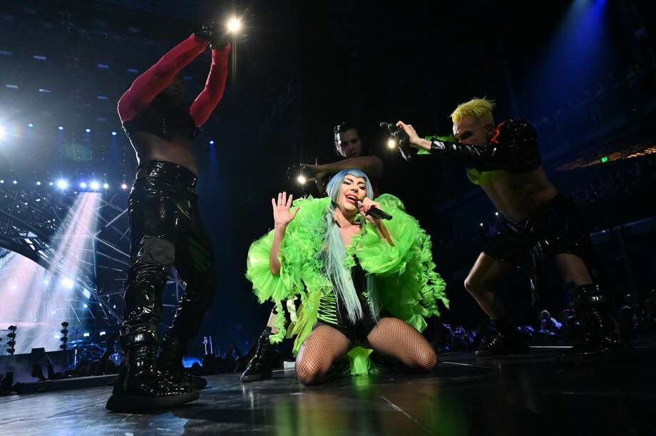 Lady Gaga performs onstage during AT&T TV Super Saturday Night at Meridian at Island Gardens on February 01, 2020 in Miami, Florida. (Photo by Kevin Mazur/Getty Images for AT&T) Photo: Kevin Mazur/Getty Images For AT&T