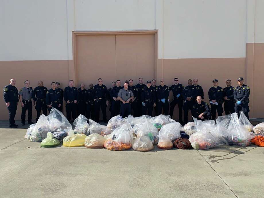 Deputies at the Santa Rita Jail in Dublin confiscated what looks like a lot of prison wine ahead of Sunday's Super Bowl between the San Francisco 49ers and Kansas City Chiefs. Photo: Alameda County Sheriff's Office