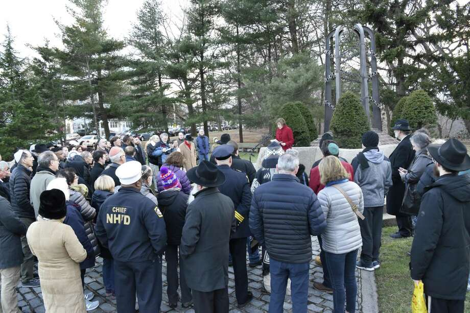 A event was held recently during which many gathered in honor of International Holocaust Remembrance Day and to stand up against bigotry and hate. Photo: Contributed