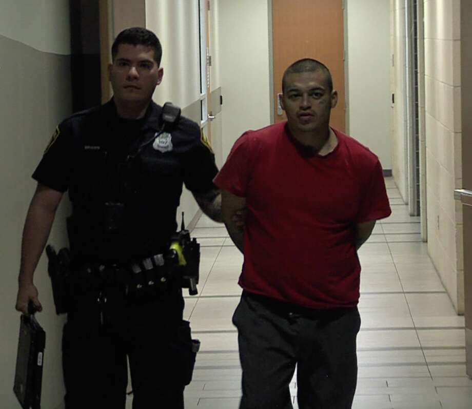 Abel Garcia, 31, was arrested Saturday in connection with a stabbing that left a 44-year-old man dead Friday afternoon. Photo: 21 Pro Video
