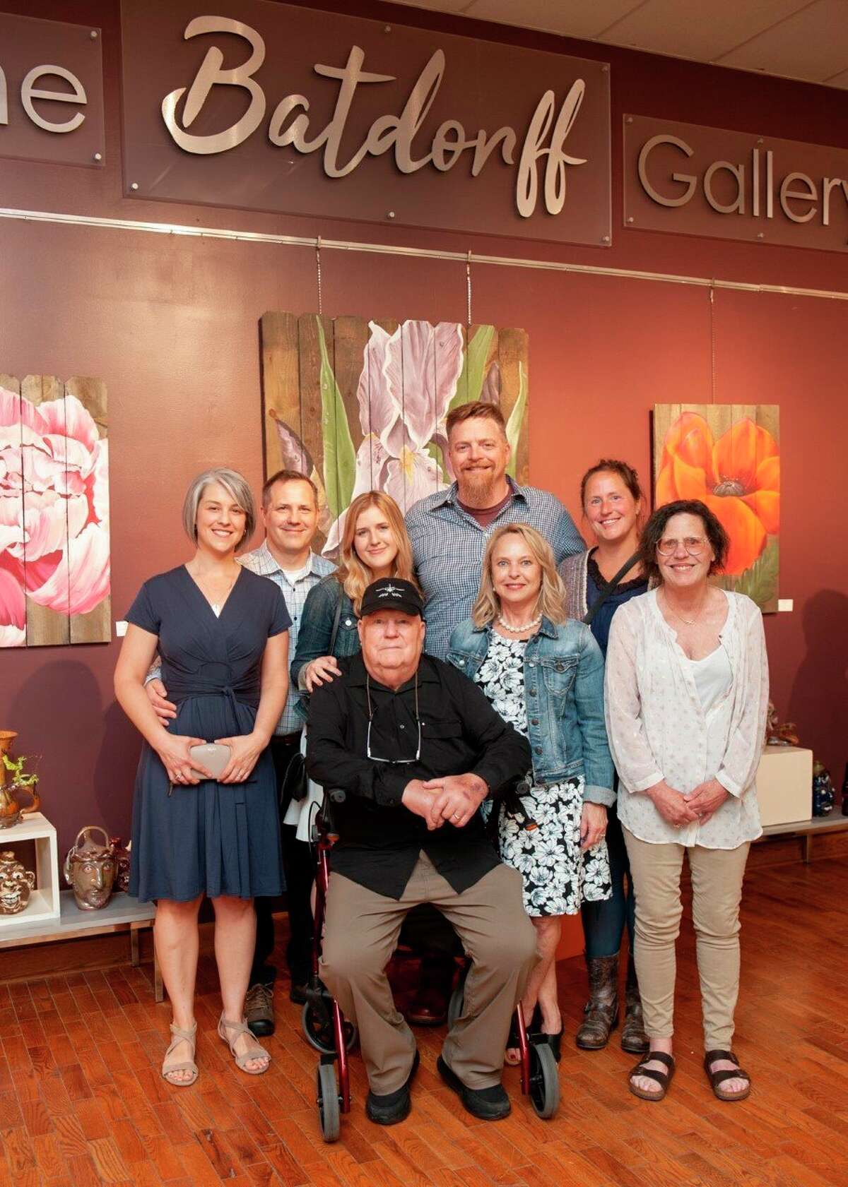 Last June, Jack and Susan Batdorff decided to pay off the mortgage for the building owned by Artworks in downtown Big Rapids in an effort to support local artists and their endeavors.Lynne Scheible, director of Artworks, said to show their immense gratitude, the Artworks board agreed to officially rename the gallery after the couple. (Courtesy photo)