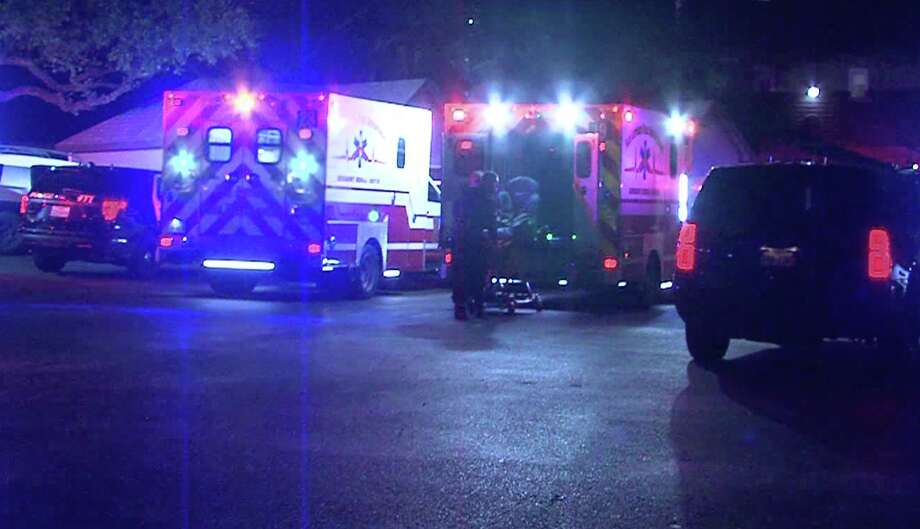 Two people were shot late Saturday at an apartment complex on San Antonio's North Side, authorities said. Photo: 21 Pro Video