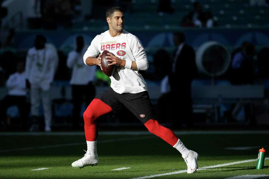 Jimmy Garoppolo has heartwarming moment with family prior to Super Bowl