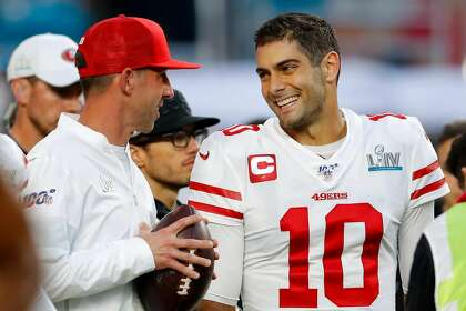 Shanahan makes it clear 49ers sticking with Garoppolo in 2020