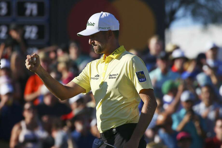 Webb Simpson won his sixth PGA Tour title Sunday and first since the 2018 Players Championship. Photo: Ross D. Franklin / Associated Press