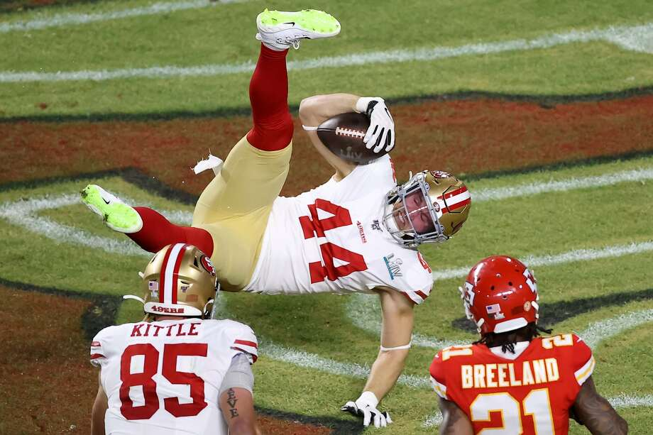 49ers tie Super Bowl LIV before halftime after nifty Kyle Juszczyk catch-and-run