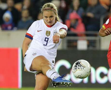 U.S. midfielder Lindsey Horan is coming off a game in which she scored three goals against Panama.
