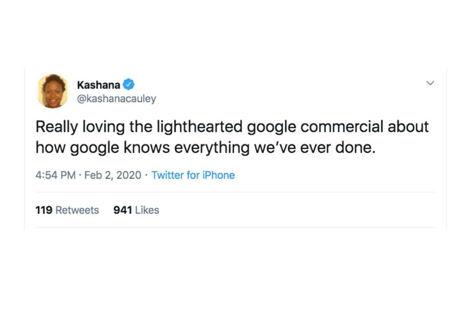 People had very strong reactions to Google's 'Loretta' Super Bowl commercial