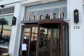 Next up was Angler, a chic waterfront seafood restaurant at 132 The Embarcadero.