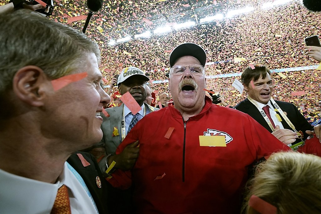 Chiefs` comeback earns Andy Reid first Super...