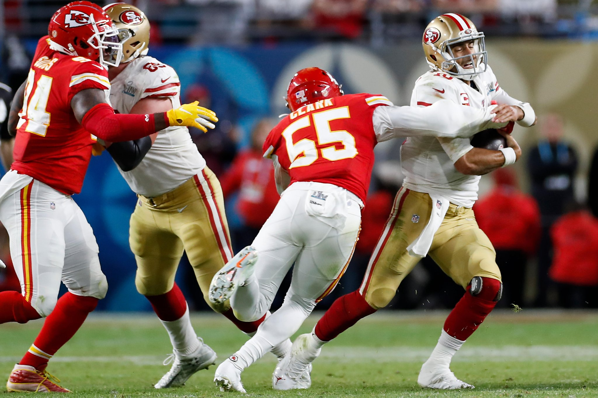 49ers' Garoppolo fails to meet the moment in forgettable fourth quarter