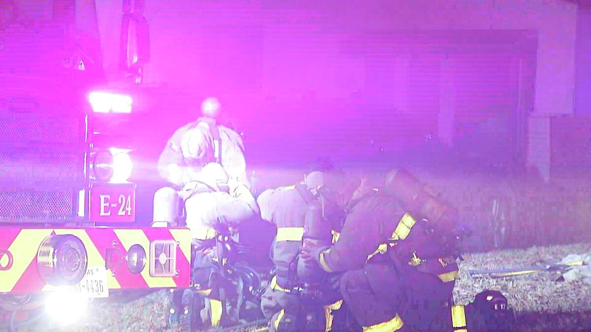A North Side family is safe after a fire ignited in their home Sunday night.