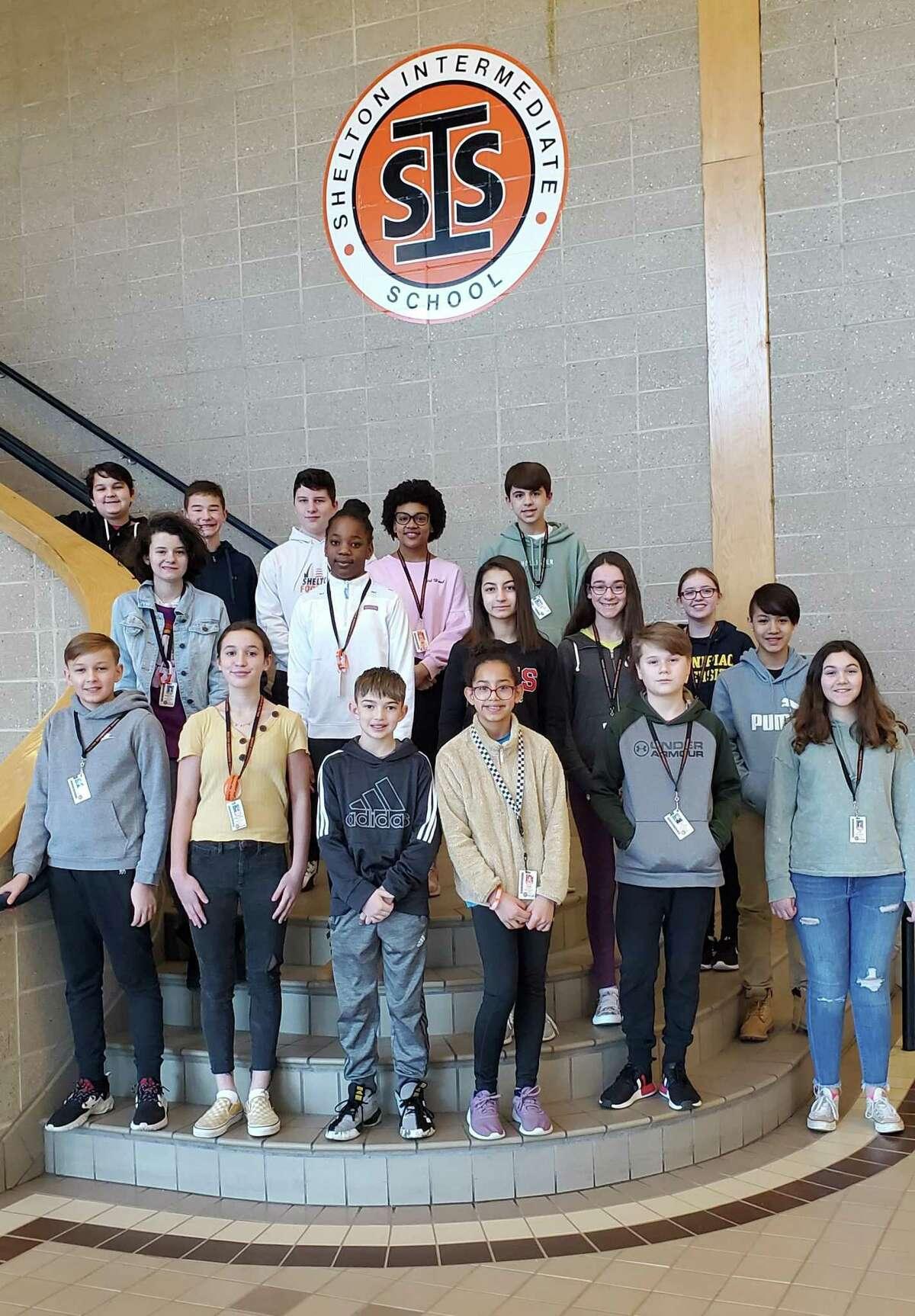 Shelton Intermediate School recently honored its November student award winners.