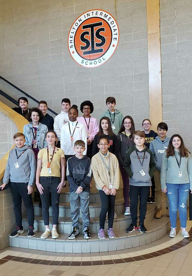 Shelton Intermediate School recently honored its November student award winners. Photo: Contributed Photo / Connecticut Post