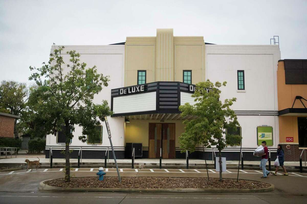 Fifth Ward's famous DeLuxe Theater was renovated in 2014.
