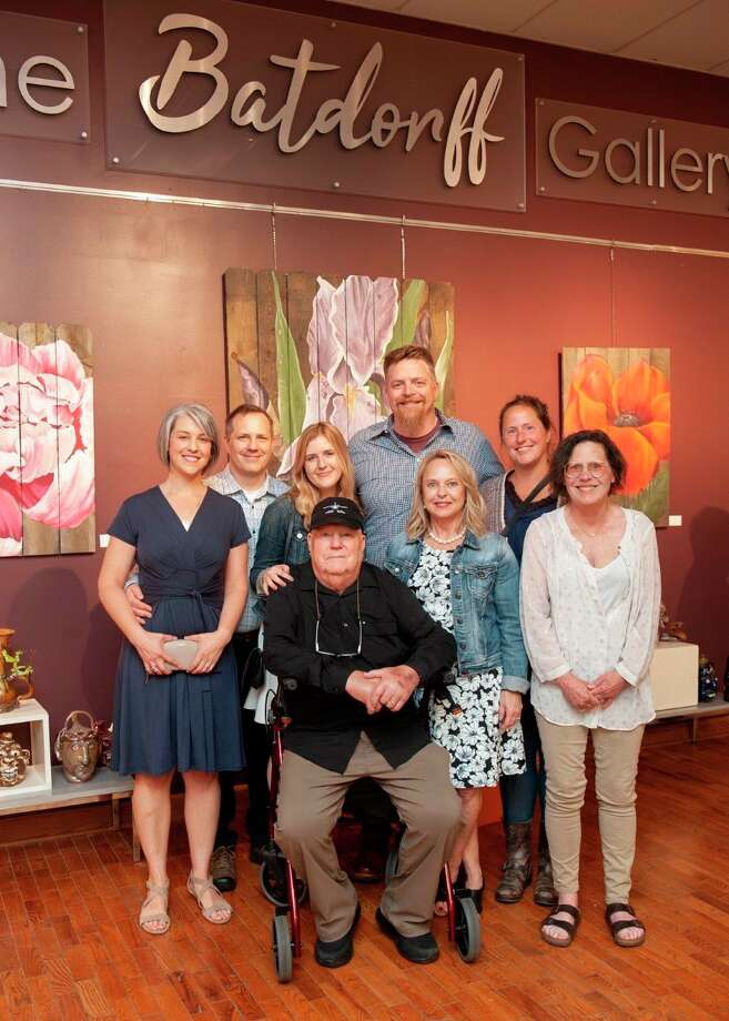 Last June, Jack and Susan Batdorff decided to pay off the mortgage for the building owned by Artworks in downtown Big Rapids in an effort to support local artists and their endeavors. Lynne Scheible, director of Artworks, said to show their immense gratitude, the Artworks board agreed to officially rename the gallery after the couple. (Courtesy photo)