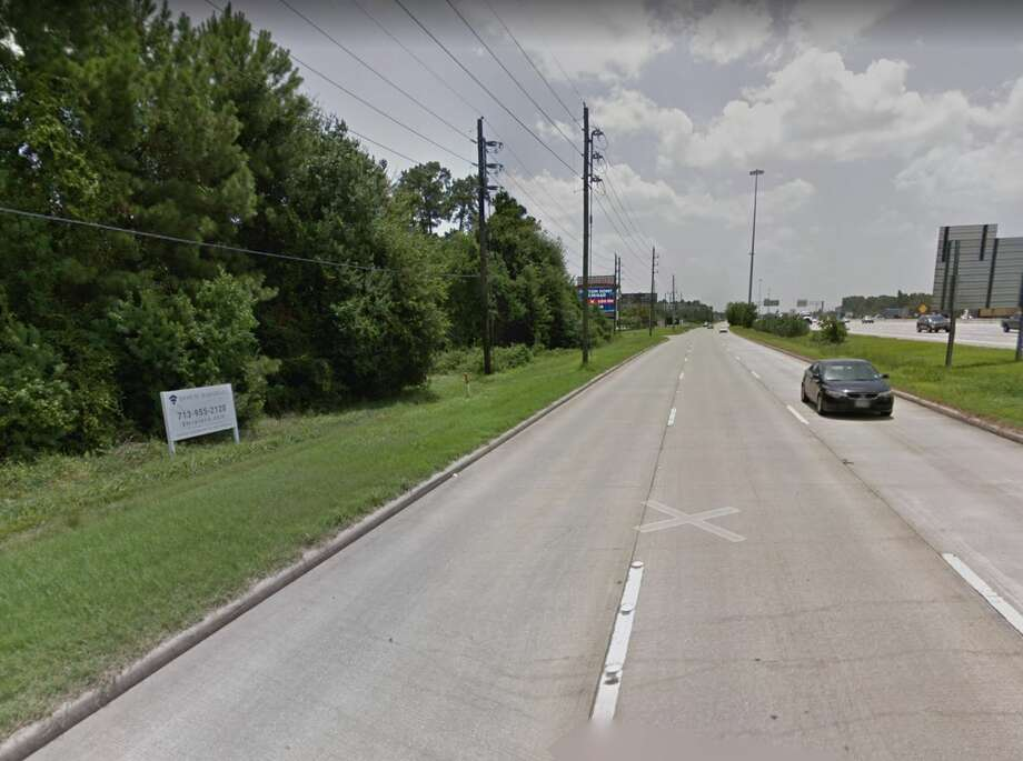 The 16300 block of the North Freeway near Spring is captured on Google Maps Street View in August 2018. Photo: Google Maps