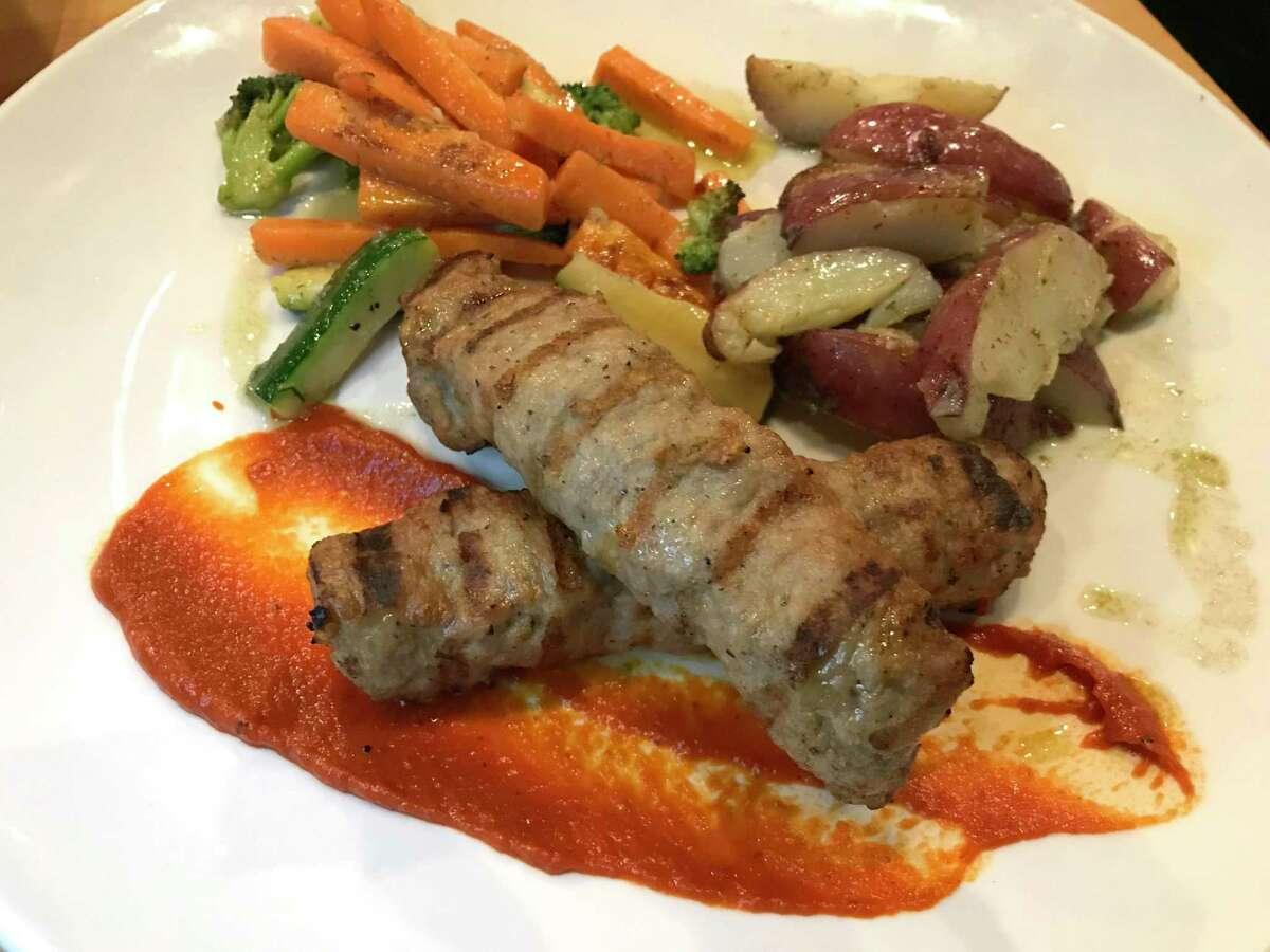 Bulgarian kebapche from Europa Restaurant & Bar