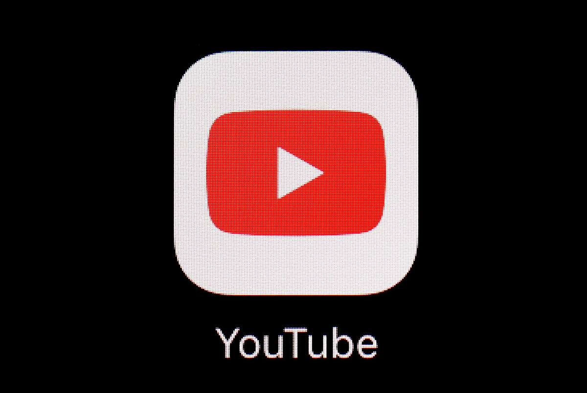 FILE - This March 20, 2018, file photo shows the YouTube app on an iPad. YouTube is making clear there will be no