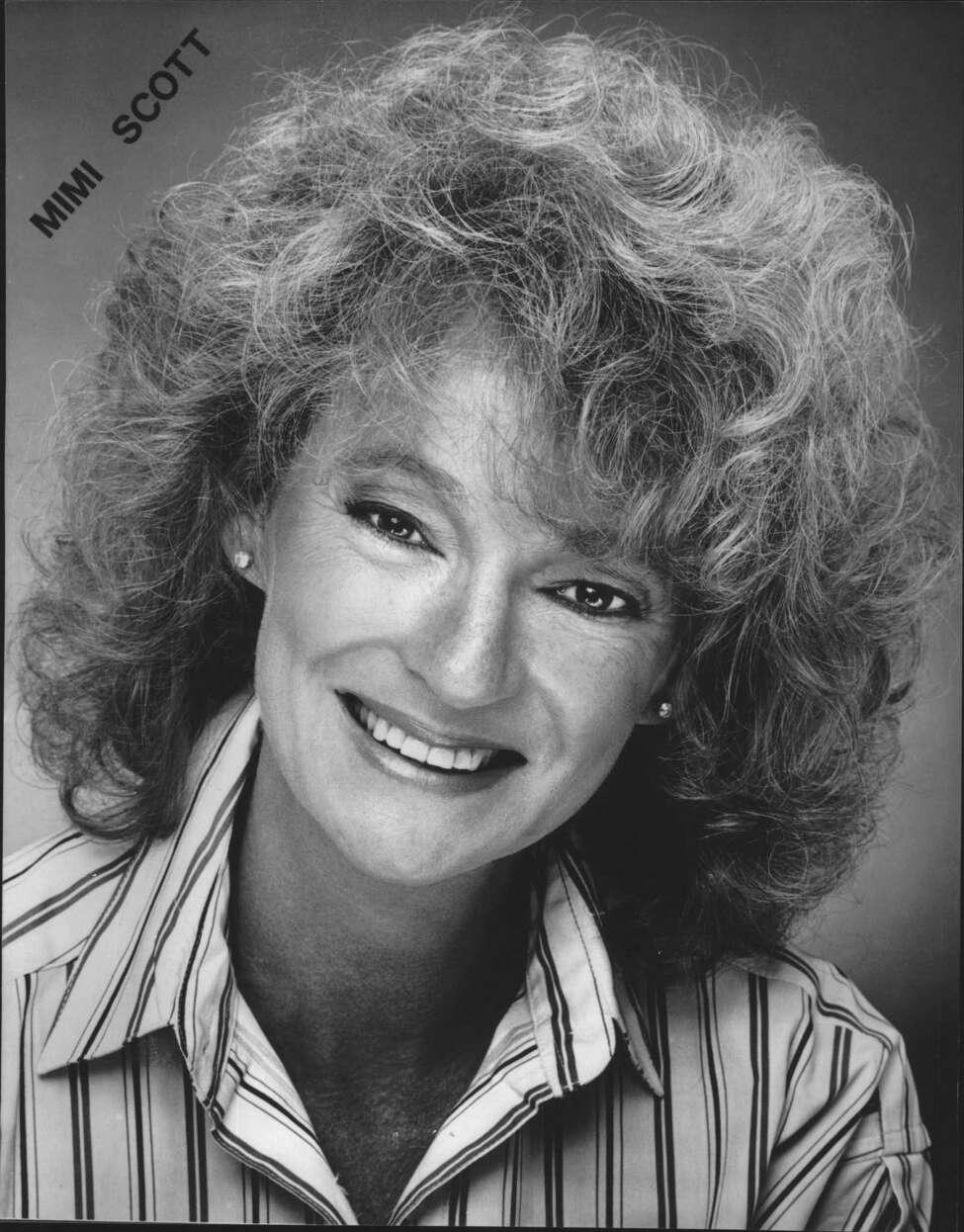 Actress Mimi Scott. March 08, 1989 (Times Union Archive)