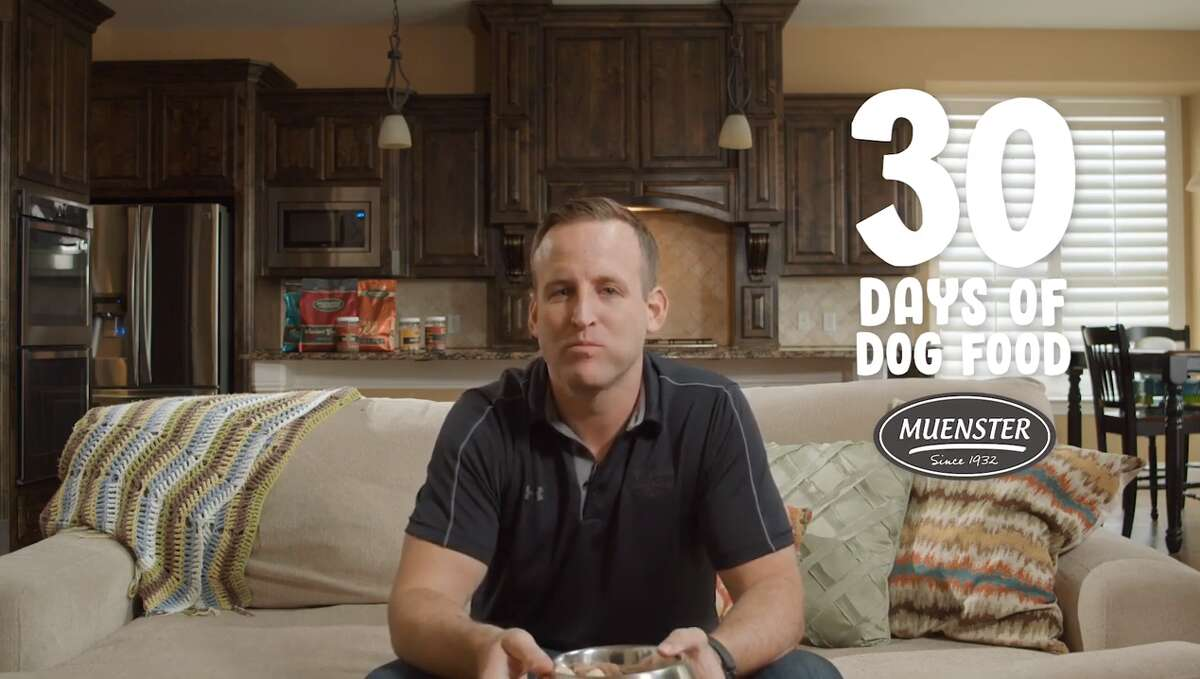 """""""So what prompted me to want to eat dog food for 30 days?"""" asked Felderhoff in a YouTube video. """"We wanted to prove that we believe in what we do. We're not going to feed your dog something unless we've eaten it first."""""""