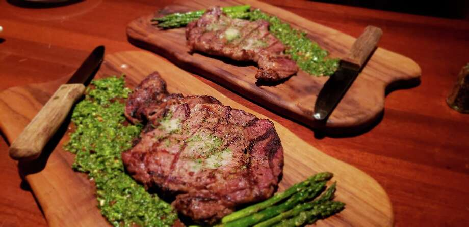 Each Monday, The Winchester hosts a $1-per-ounce deal on steaks. Photo: Courtesy, The Winchester