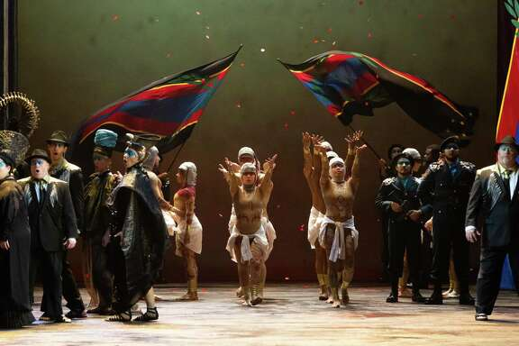 The Houston Grand Opera production of 'Aida'
