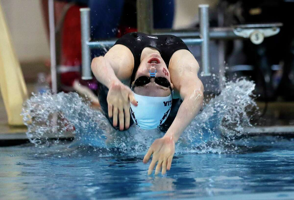Sarah Culberson, a Magnolia freshman, was called up the state meet in the 200-yard individual medley.