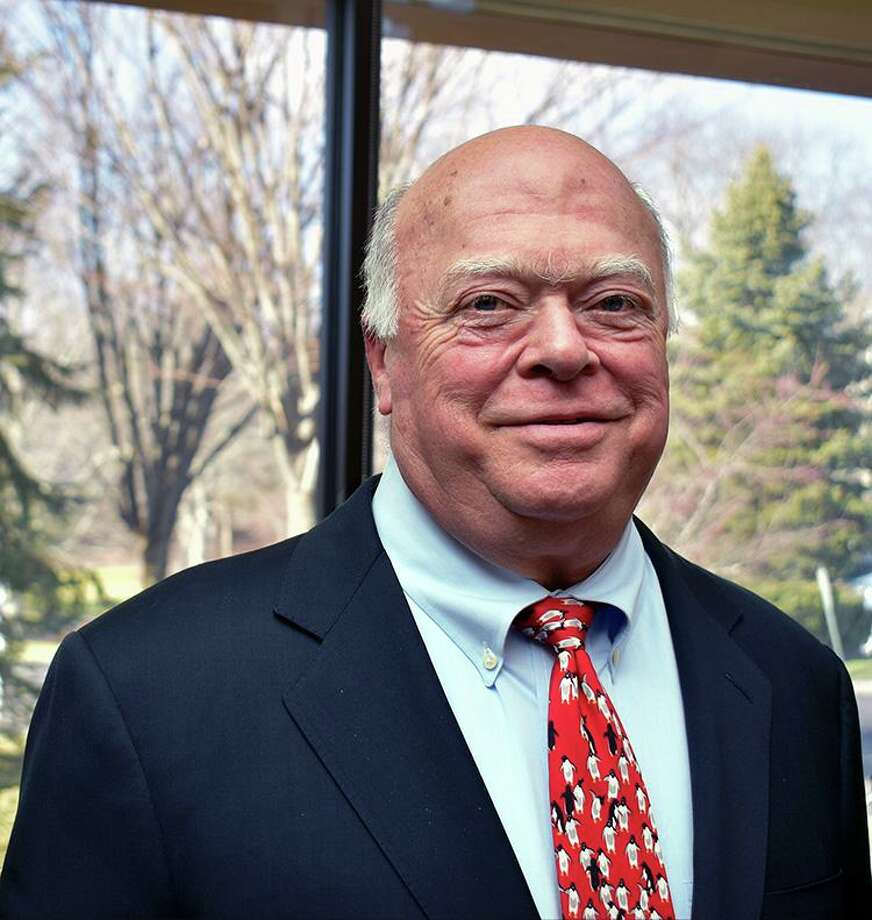 New Canaan resident Dave Hunt is the 2020 Gridiron Club Fall Guy. Photo: New Canaan Gridiron Club / Contributed Photo / New Canaan Advertiser Contributed