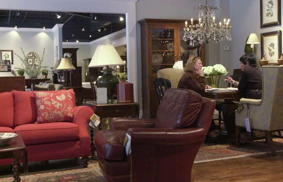 A file photo of a Safavieh store in Stamford, Conn. Photo: Andrew Sullivan /Staff Photo