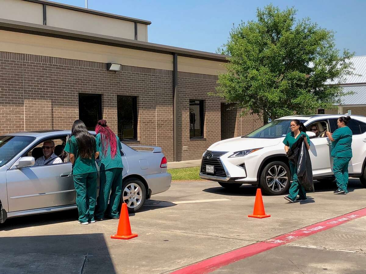 Bay Area Alliance for Youth and Families Coalition collect prescription drugs from the community during a Medication Take Back event. The group is expanding into Friendswood ISD with plans for presentations and other activities designed to discourage youths from substance abuse and to participate in healthy lifestyles.