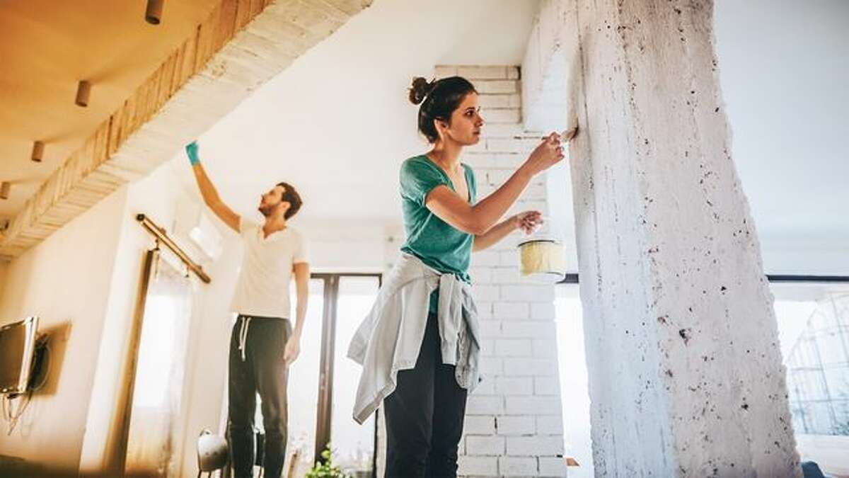 Tackle DIY projects around the house Been wanting to get around to painting your front door a new color? Want to build a new cabinet for you kitchen? Here are some easy DIY projects you can undertake in a weekend.