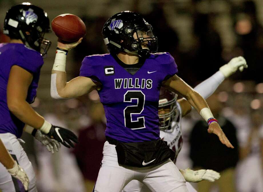 Willis quarterback Steele Bardwell (2) leads the offense with a year and a half of starting under his belt. Photo: Jason Fochtman, Houston Chronicle / Jason Fochtman / Houston Chronicle