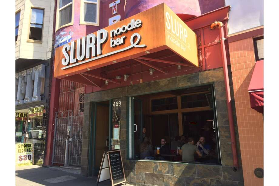 Slurp Noodle Bar located at 469 Castro St. has closed after six years in the Castro. Photo: Andrew D. On Yelp