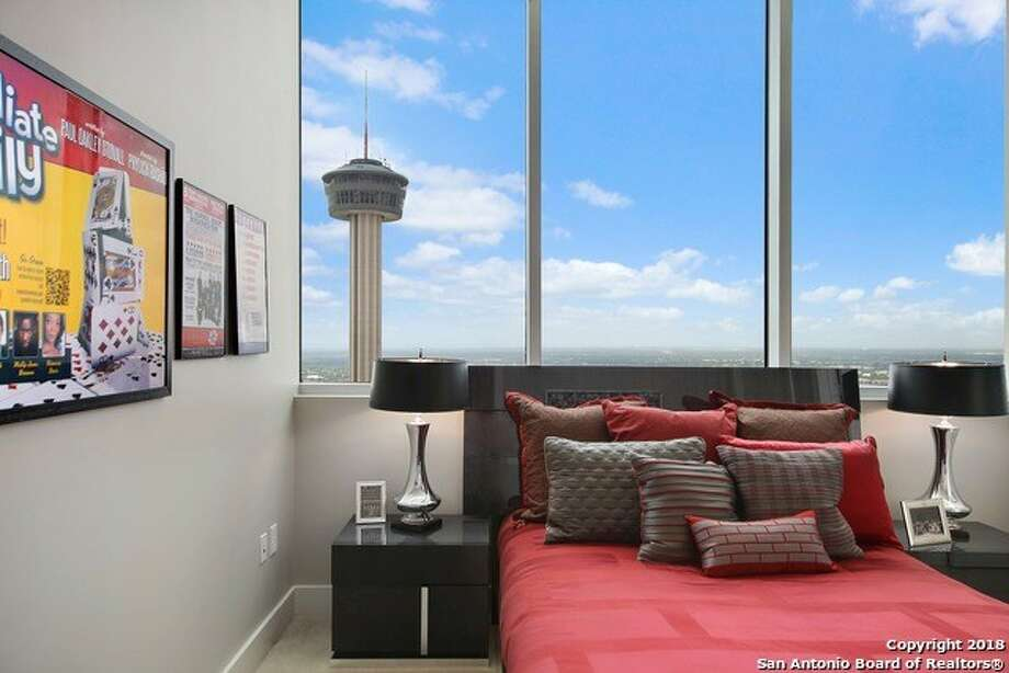 "Heralded as the ""penthouse of penthouses,"" the luxury condominium atop 600 E. Market St. offers floor-to-ceiling windows with 270-degree views. Photo: San Antonio Board Of Realtors"