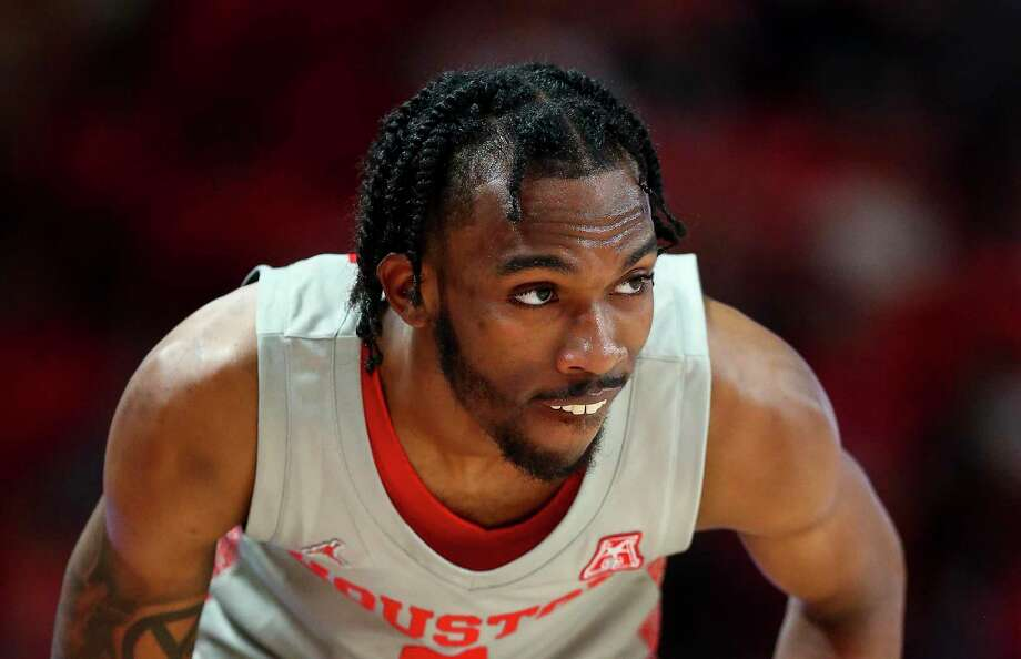 DeJon Jarreau, in a game against South Florida earlier this season, has been suspended one game by the school for biting a Cincinnati player on Saturday. Photo: Godofredo A. Vásquez, Houston Chronicle / Staff Photographer / © 2020 Houston Chronicle