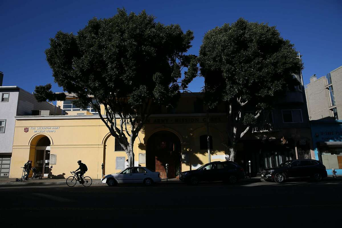 The Salvation Army building at 1156 Valencia Street is seen on Monday, February 3, 2020 in San Francisco, Calif.
