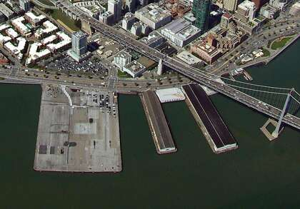 Mayor Ed Lee plans to offer the interactive museum planned by Star Wars creator George Lucas most of a triangular lot across from Piers 30-32.