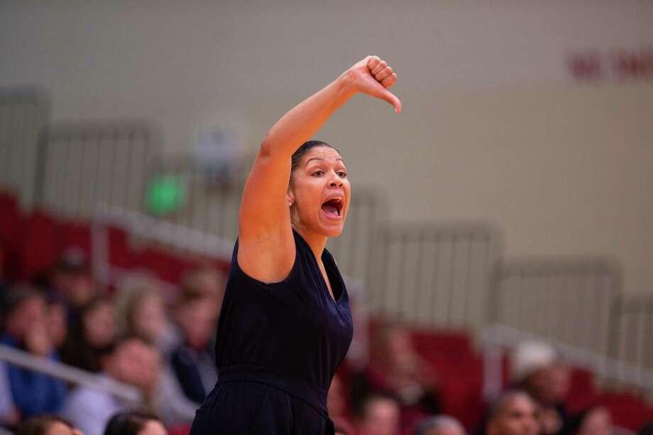 Boston University women's basketball coach Marisa Moseley, a former UConn assistant. Photo: Rich Gannon / Boston University / 2018 Boston University Athletics