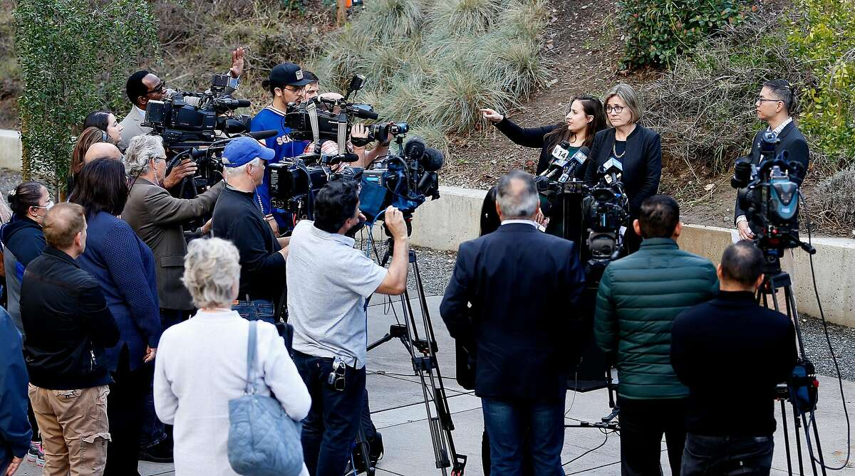 Director of public health Dr. Sara Cody takes questions during a press conference confirming a case of coronavirus infection in Santa Clara County. At Santa Clara County Public Health in San Jose, Calif., Friday, Jan. 31, 2020.