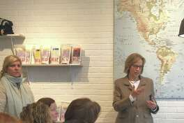State Rep. Terrie Wood recently held two community coffees to discuss her goals for the next legislative session.