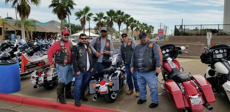 The Rosenberg chapter of the Red Knights Motorcycle Club, consisting of firefighters and EMS professionals, is hosting a benefit for retired firefighter Luther Bierwirth. Photo: Provided By Red Knights Motorcycle Club Rosenberg Chapter