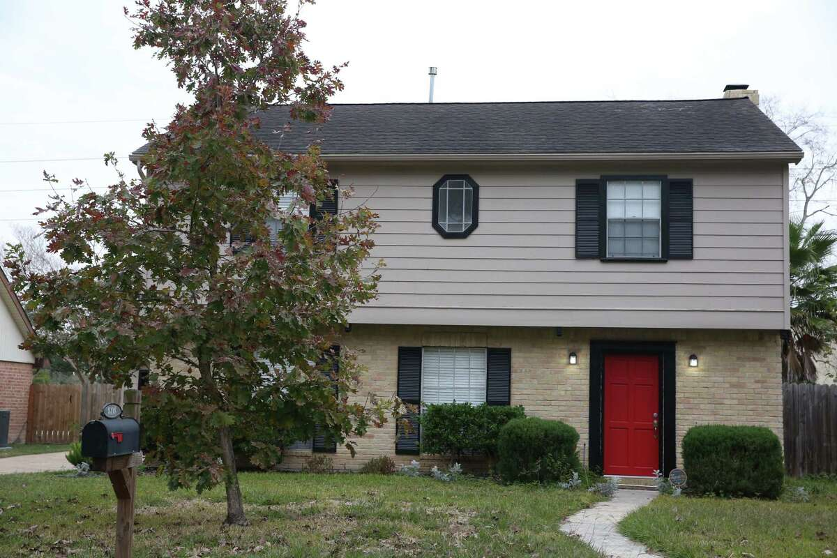 The house on Bo Jack Drive near Jersey Village where the body believed to be of Austin mother Heidi Broussard was found outside in the trunk of a car.