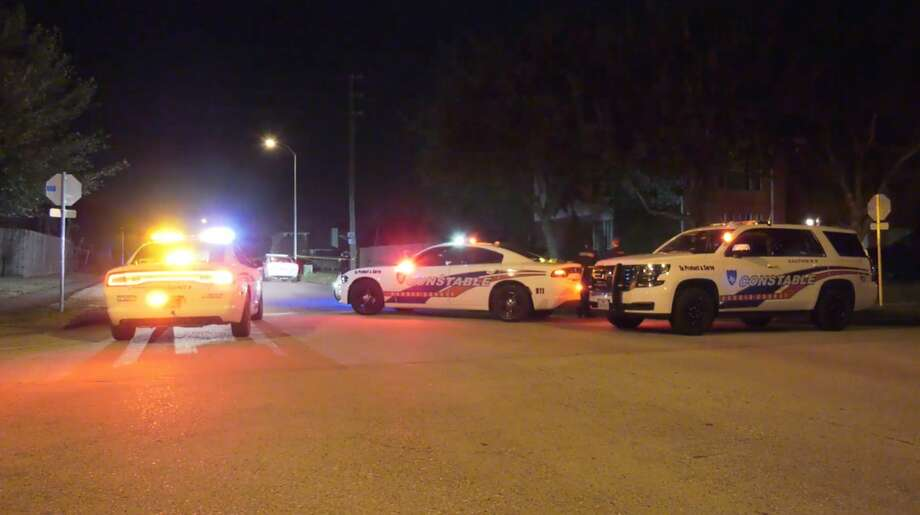 Authorities investigate a deadly shooting in the 6700 block of Treeline Drive on Sunday, Feb. 2, 2020. Photo: OnScene.TV