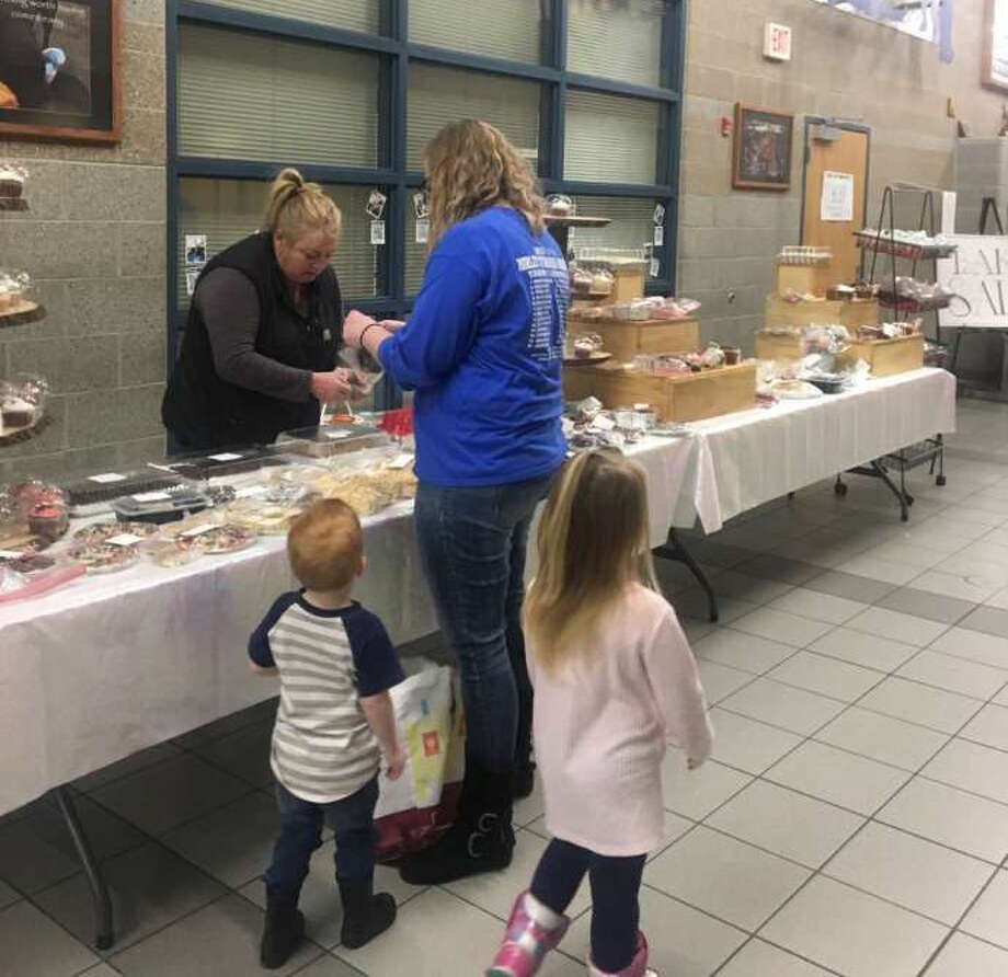 MSCS raised money for a long-time maintenance employee through a bake sale. Additionally, the school district hosted a benefit and received donations from various area businesses. Photo: Courtesy Photo
