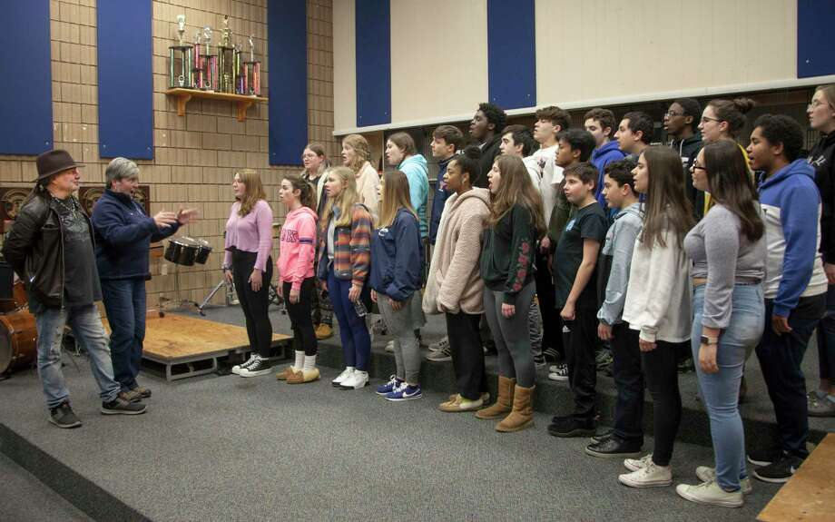 """The Best of the 70s"" concert will be performed Feb. 8 in Milford, featuring students from Foran and Jonathan Law high schools. Photo: Contributed Photo"