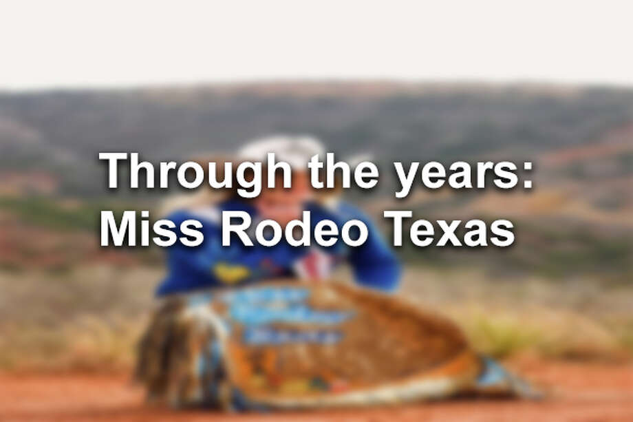 Click through to see Miss Rodeo Texas through the years. Photo: File Photo
