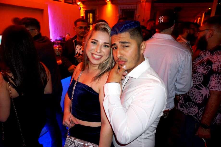 Stephanie and Carlos Esquivel at Siete Banderas. Photo: Jose Gustavo Morales/Laredo Morning Times