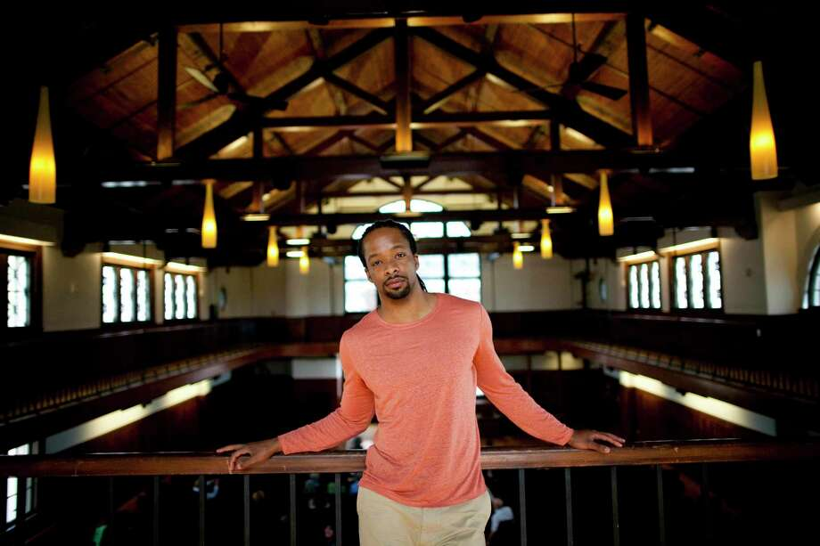 Poet Jericho Brown will teach a poetry workshop, followed by a poetry reading at the Aldrich Contemporary Art Museum in Ridgefield on Feb. 13. Photo: Stephanie Mitchell / Contributed Photo / Harvard University News Office / Harvard University News Office