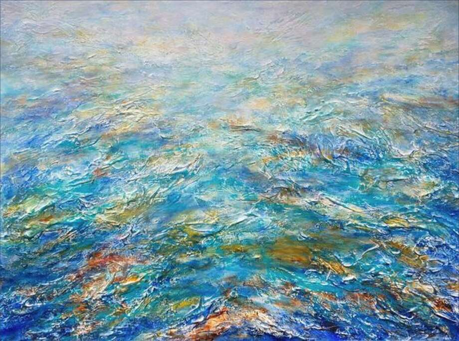 Vicki French Smith's Reflections of Sea & Sky exhibit runs through Feb. 29 at the Geary Gallery, 576 Boston Post Road, Darien. For more information, visit gearygallery.com. Photo: Contributed Photo
